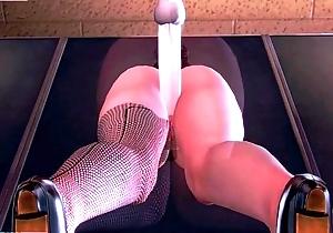 3D Hentai Asian Secretary Big Tits Having Sex-LGMODS