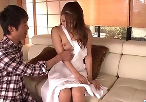 Nana Ninomiya hot wife amazes hubby roughly full porn