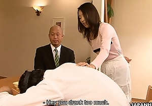 Asian slut Yui cheating on her man to his home