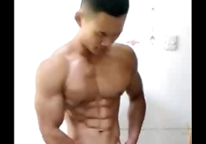Asian Muscle CUm
