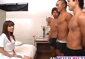 Ibuki sucks dick plus gets cum