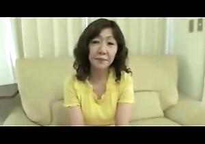 Japanese Beamy Big clit Mature Eriko Nishimura 51years