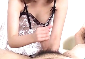 Miruku Ichigo devours two cocks in deprecatory threesome