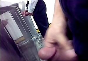 Toilet jerk off 1