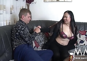 MMV FILMS The maid has huge tits