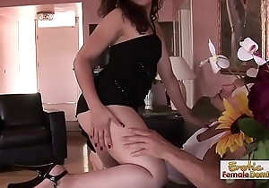 Dirty Lady Has A Enactment For Cock Sucking