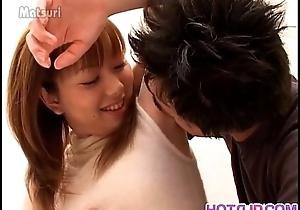 Young Erika receives proper sting