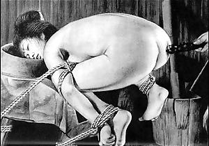 Slaves to rope japanese art bizarre bondage new bdsm painful cruel punishment asian amulet