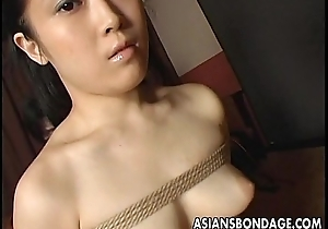 Craving Japanese skirt gets tied up and gagged