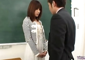 Hot Cram Fingered Sucking The Prime In The Classroom
