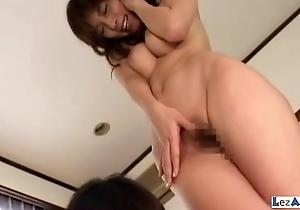 Gaffer Asian Girl Kissing Getting Her Hairy Pussy Licked Fingered On The Mattress