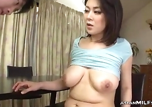 Milf With Milking Titties Fingered Sucking Young Impoverish Fucked Form Retreat from While Stand