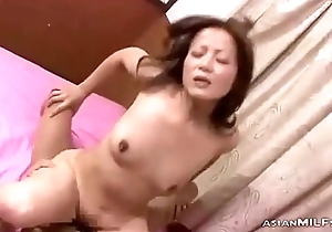 Milf Fingered In Doggy Sucking Guy Cock Fucked Getting Creampie On Someone's skin Bed In Th
