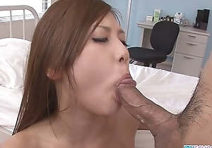 Yura about an asian blowjobs porn fucked by two guys