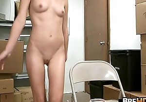 Teenie Tiny Tow-headed Teen handsomeness Dakota Skye Fucked With reference to An obstacle Back Room 1.2