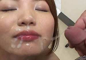 BUKKAKE Growth 3 Japanese Uncensored blowjob bukkake