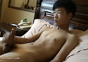 Smooth Asian Boy Jerk Gone