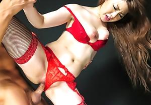 Remarkable porno screw around with sexyReika Ichinose