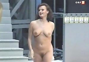 Austrian actress overt in theater