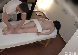 Riches massage therapy on a seductive lady