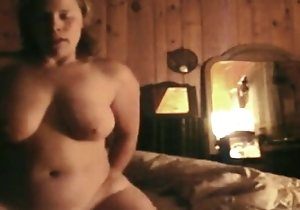 Taking wife rails get under one's jizz out of husband