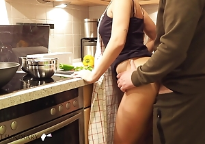 mummy prep dinner has short kitchen fuck - projectsexdiary