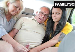 Mother and Daughter Attracting Care be expeditious for Grandpa's Needs