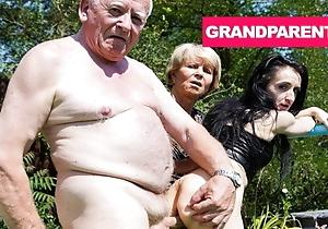 Rejuvenating Grandpa's Trounce Blarney with Granny