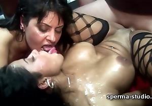 Cum Orgy - Tekohas and Mariska - P2