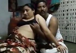 Indian mom screwed yon saree