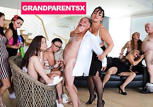 Cruel Grandparents Fuckfest Part 1