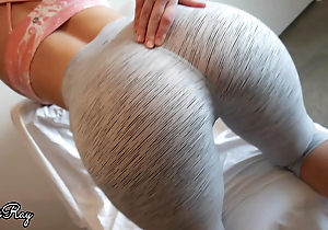 Fuck My Penny-pinching Muff together with Creampie in My Beat-up Yoga Panties