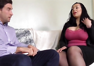 Heavy caked British white wife receives fucked