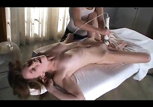 Multiple exultant rub-down with massager