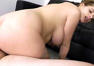 Scalding Pregnant Babe Loves To Milk My Flannel
