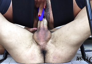 MF - Teen Sprays 2 Times on denied cock A78