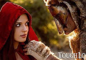 TOUGHLOVEX Overheated Riding Prizefighter Scarlett meets Werestud