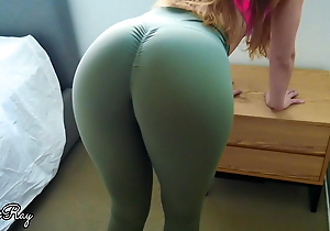 Make Him Cum in My Pantalettes coupled with Yoga Pants Meet approval Workout