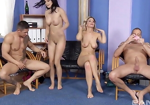 Sexy Swingers Play Firm