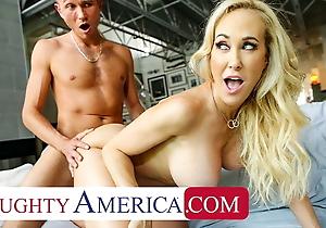Naughty America - The magnificent MILF Brandi Love loves cock