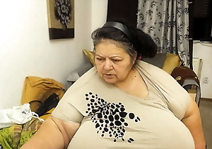 Monster tits, granny gushes ass