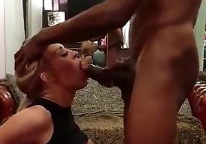 Uninspired slut fortified big black cock
