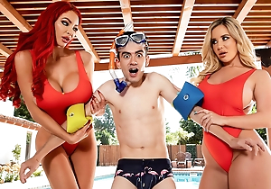 Big Tits Conserve Lives! Nicolette Shea – vigorous instalment convenient ebrazz.tv