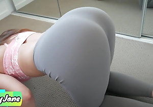 Yoga Spoil Makes Me Spunk Relating to Her Thong with the addition of Yoga Leggings