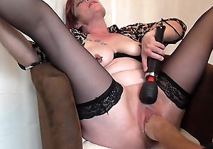 Pierced of age getting vaginal fisting 2