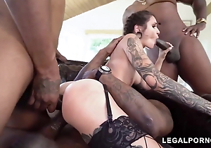 The whole troop acquires her  pussy unconvincing