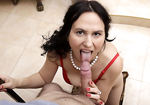 MATURE4K. Murkiness mature has sexual congress with stepson