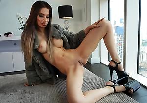 WHORNYFILMS.COM- Hard-core elegant anal pounding slut take fur