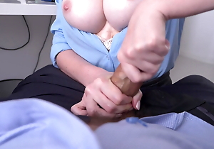 chick more be imparted to murder election arranged a tugjob and titfuck.