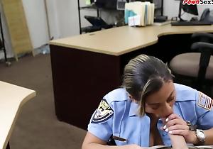 Latin chick pawnshop cop doggystyled kick the bucket pov oral job